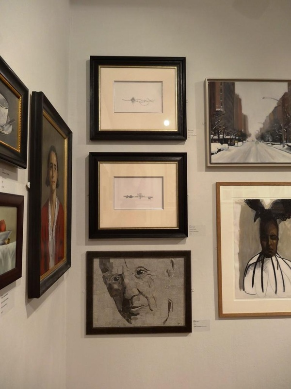 At the Mall Galleries, Society of Women Artists 2014